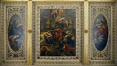 Sir Peter Paul Rubens, The Peaceful Reign of James I, ceiling of the Banqueting House, Whitehall, c. 1632–34
