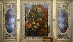 Peter Paul Rubens, The Union of the Crowns of Scotland and England, ceiling of the Banqueting House, Whitehall, c. 1632–34, oil on canvas