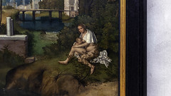Giorgione, The Tempest (detail)