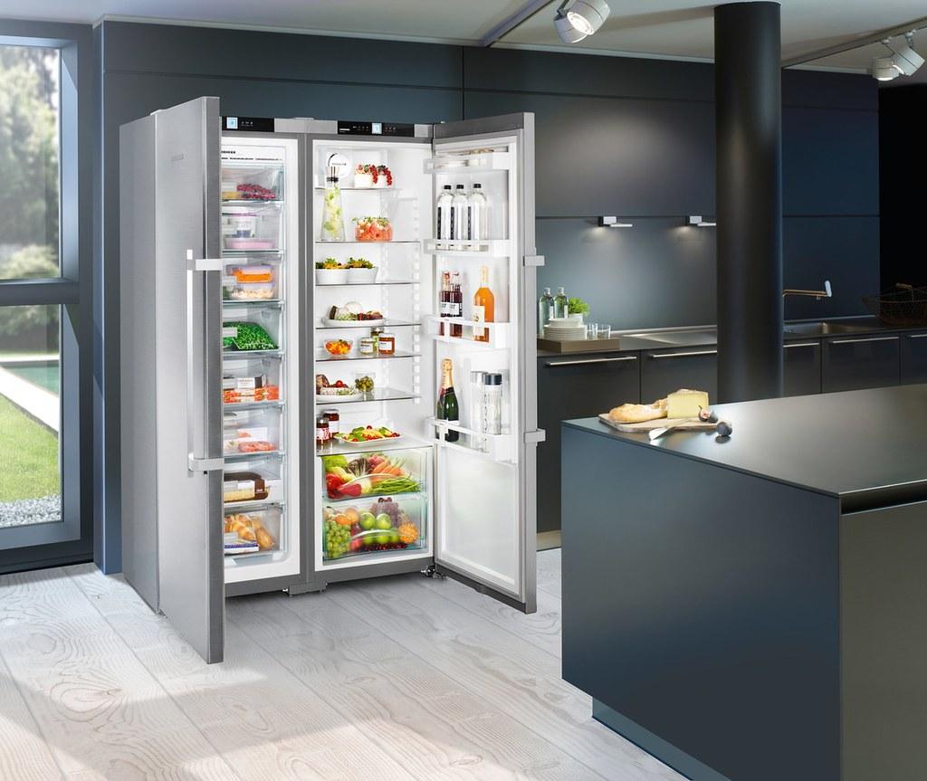 LIEBHERR SBS7242獨立式雙門冰箱-4