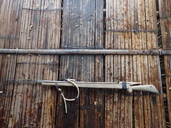 Lao fishing spear gun