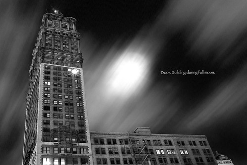 Full moon in Detroit 3/13/2006
