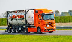 Truck Spotting on the A58/E312 Direction Kruiningen-Netherlands 16/04/2020.