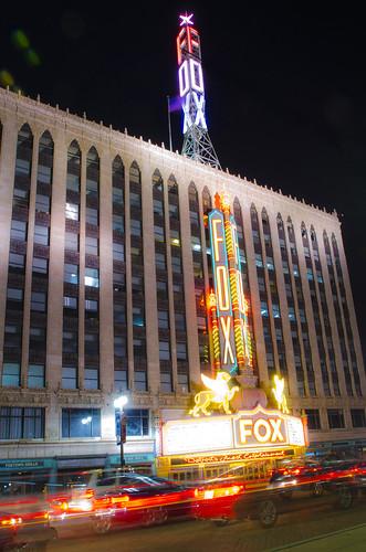 photo of detroit fox theatre