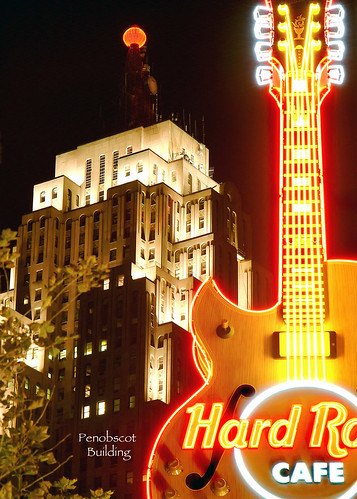 photo of detroit michigan hard rock cafe
