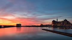 Sunset Lelystad Bataviahaven - 2
