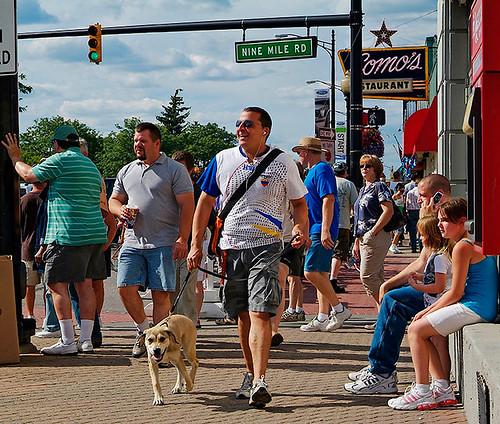 Photo of Downtown ferndale michigan copyright jeff white  23