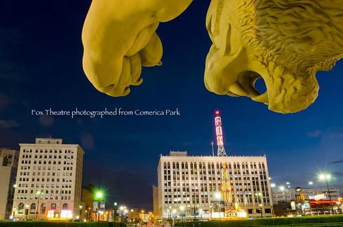 photo of detroit michigan comerica park