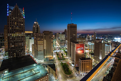 Downtown Detroit, Michigan Renaissance Center Jwhitephoto