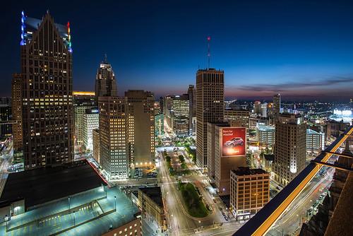 Downtown Detroit, Michigan Renaissance Center Jwhitephoto