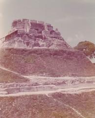 El Castillo, Xunantunich, 1975