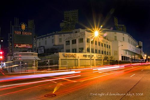 detroit photos of tiger stadium