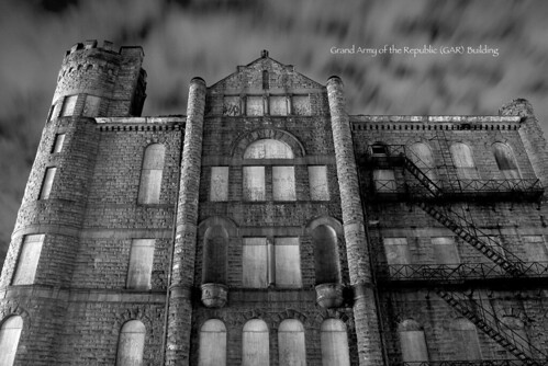 photos of detroit GAR building
