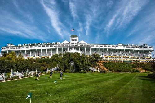 Mackinac Island Grand Hotel Michigan  2