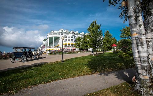 Mackinac Island Grand Hotel Michigan