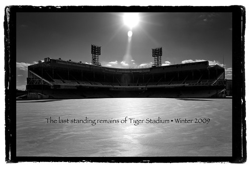 photo of detroit tiger stadium