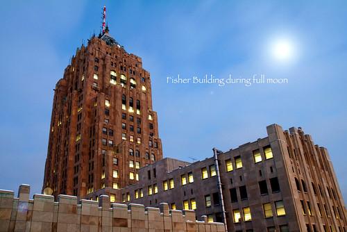 photo of detroit New Center, Detroit, Mi. 2005