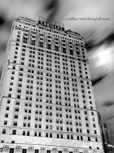 photo of detroit cadillac hotel