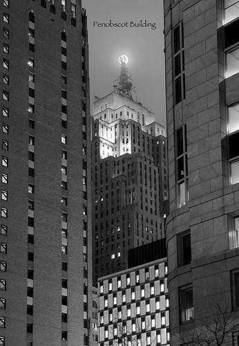 photo of detroit michigan penobscot building