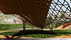 Archi extérieure-Rhinoforyou-LandsDesign-VisualArq-Vray-Grasshopper-01