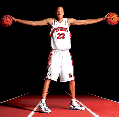 Tayshaun Prince Basketball Player Detroit Pistons