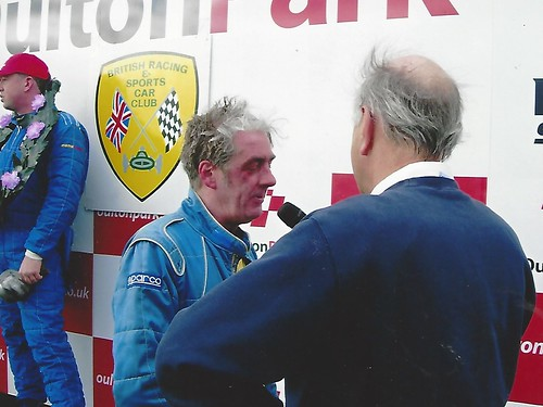 Ian Titchmarsh with Andy at Oulton