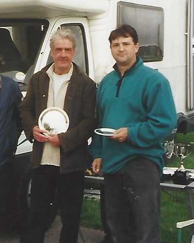Driver of the Day at Cadwell 2004 with Ian Fisher
