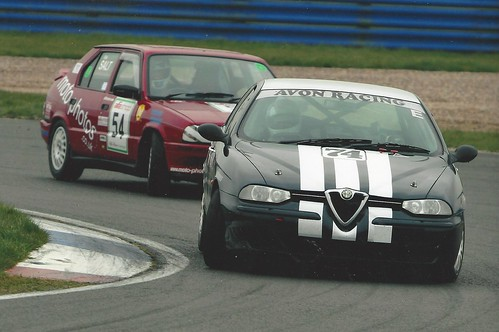 Andy leads Richard Salt at Silverstone