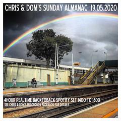 diary #2576: Sunday Almanac: Realtime Spotify Set, April 19th, 2020