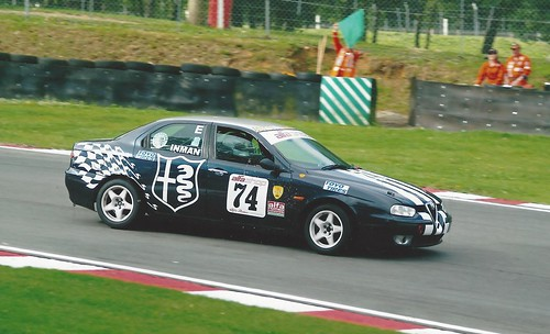 Andy with 156 at Brands