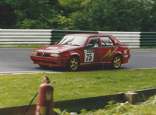 Andy Inman 75 at Cadwell