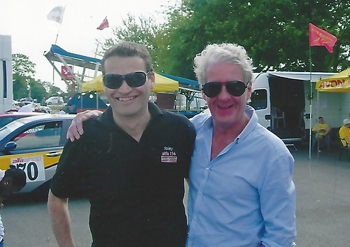 Andy with Steve Foley at Oulton