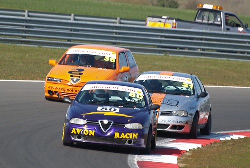 Andy at Snetterton