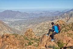 Hiking near Taif