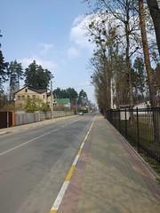 Ukrayinska street (Irpin, Ukraine)