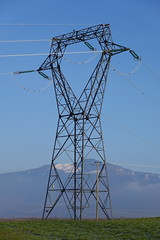 Power transmission tower @ Chêne-en-Semine