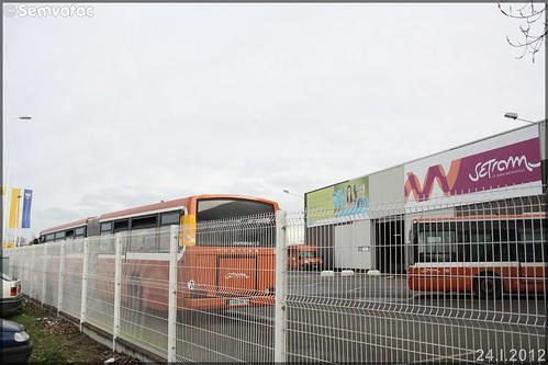 Heuliez Bus GX 187 – Setram (Société d'Économie Mixte des TRansports en commun de l'Agglomération Mancelle) n°559