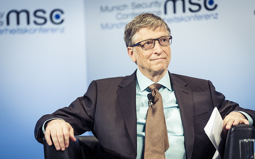Bill Gates at Hioe Charity Forum, From FlickrPhotos