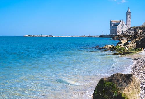 The Azure Waters of Trani