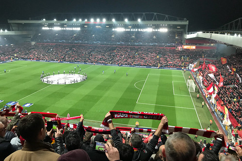 """Anfield Stadium, Liverpool • <a style=""""font-size:0.8em;"""" href=""""http://www.flickr.com/photos/22350928@N02/49792503152/"""" target=""""_blank"""">View on Flickr</a>"""