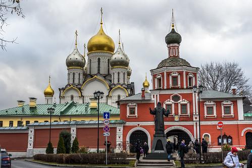 Zachatyevsky convent (Moscow, Russia) / Зачатьевский монастырь