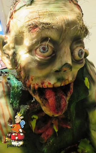 a close zombie