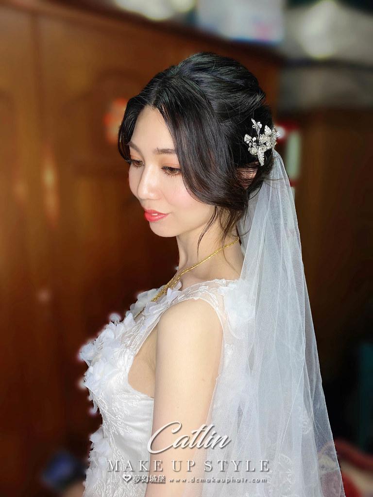 【新秘Catlin 】bride 怡臻 訂結婚造型 /  韓系甜美