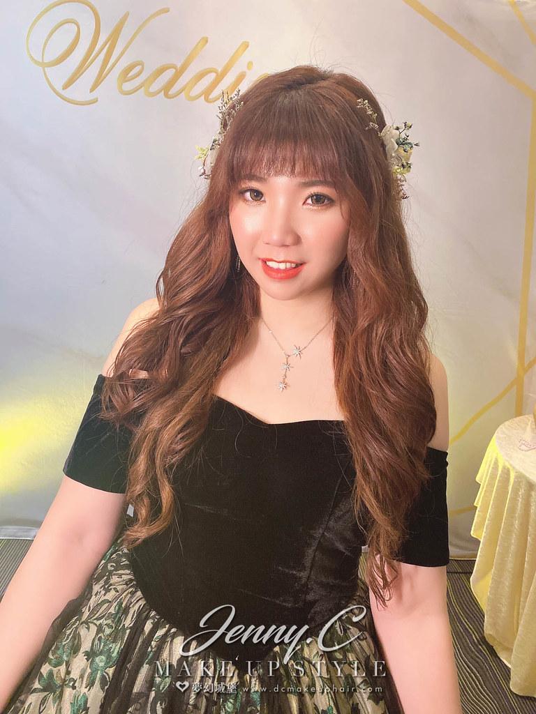 【新秘蓁妮】bride 萱盈 訂結造型 / 浪漫仙女