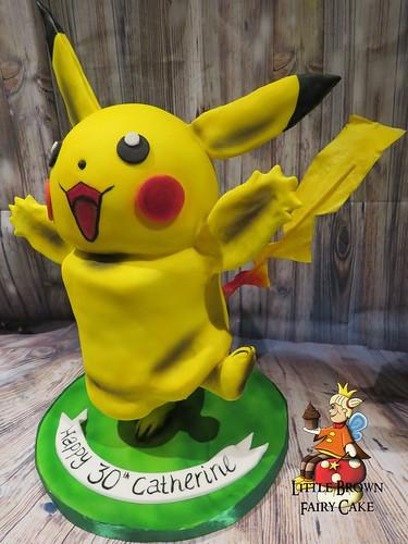 a side pikachu