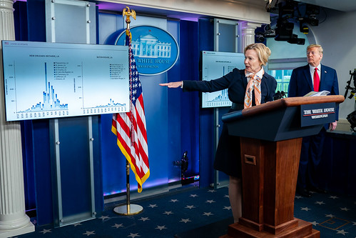 White House Coronavirus Update Briefing by The White House, on Flickr