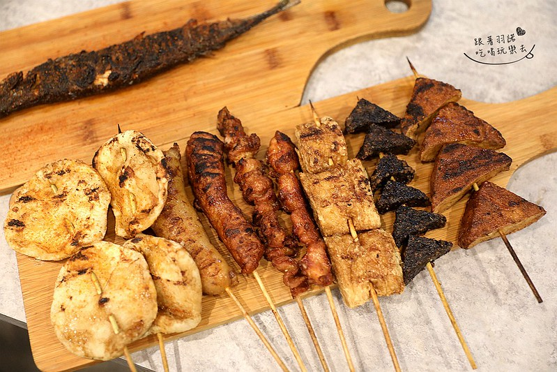 品都串燒高人氣銅板美食東區爆表CP值炭火串燒36