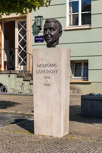 Büste Wolfgang Langhoffs