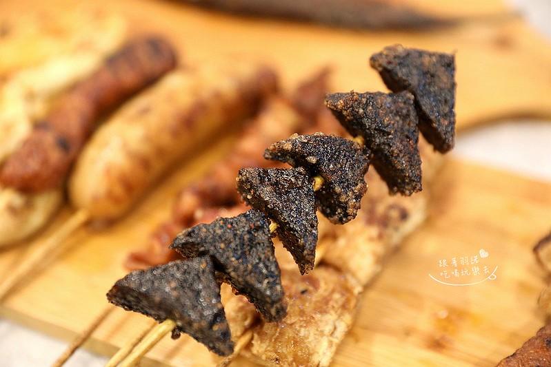 品都串燒高人氣銅板美食東區爆表CP值炭火串燒51