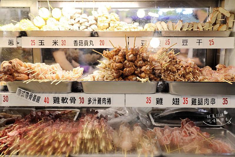 品都串燒高人氣銅板美食東區爆表CP值炭火串燒30